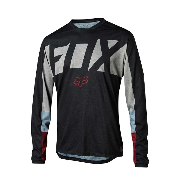 Fox Indicator LS Jersey Drafter black 2018