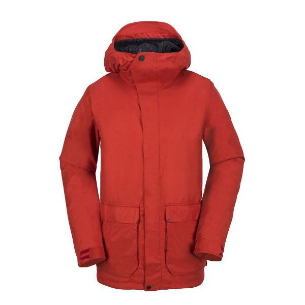 Volcom Utilitarian Jacket burnt orange
