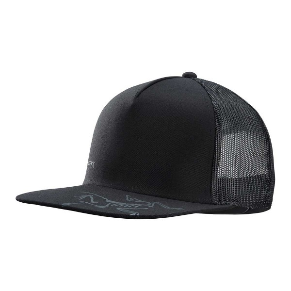 Arcteryx Bird Brim Flat Trucker black 2020