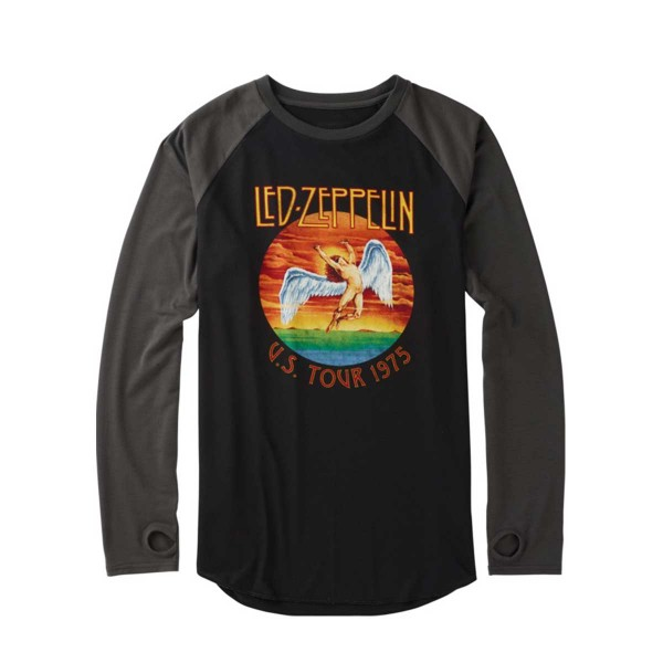 Burton Roadie Tech Tee led zeppelin 75 16/17