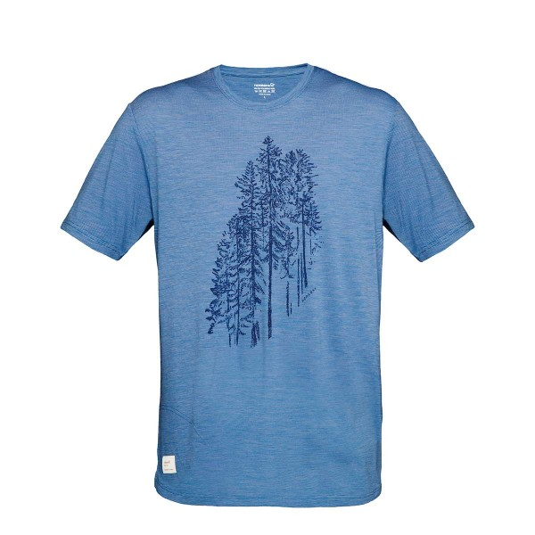 Norrona svalbard wool T-Shirt denimite 2019