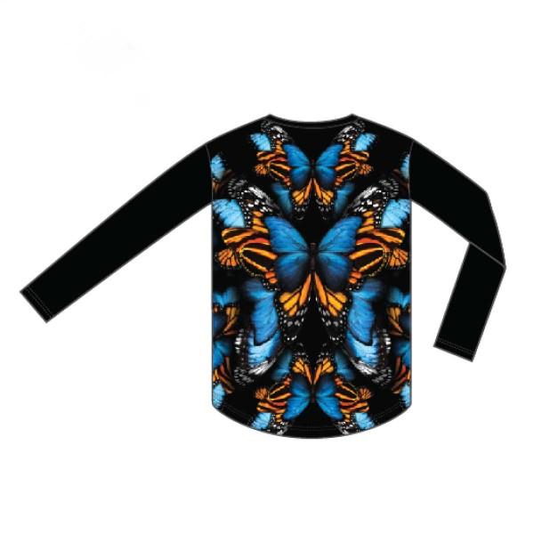 Burton Tech Tee wms butterflies 15/16