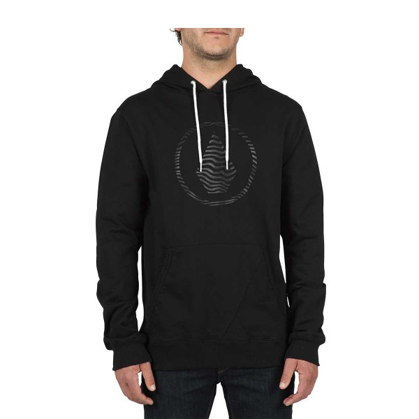 Volcom Stone P/O Pullover Hoodie new black
