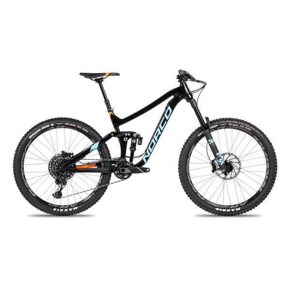 Norco Range A1 blue/black/orange 2018