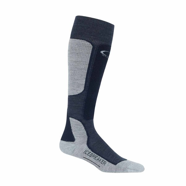 Icebreaker Ski+ Light OTC fathom heather / midnight navy / blizzard 18/19