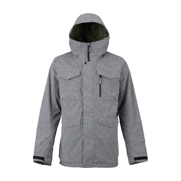 Burton Covert Shell Jacket bog heather 17/18