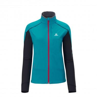 Salomon Elite WS Jacket wms blue/black 13/14