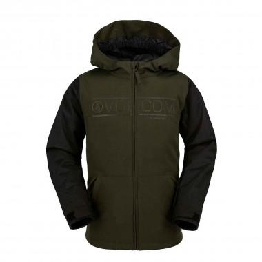 Volcom Selkirk Ins Jacket boys green 16/17