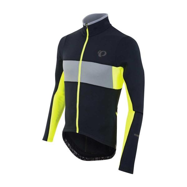 Pearl Izumi Elite Thermal LS Jersey black / screaming yellow