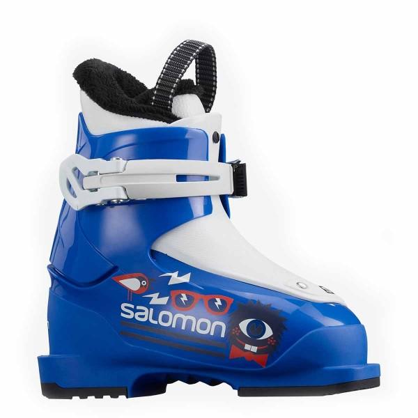 Salomon T1 kids race blue/white 21/22