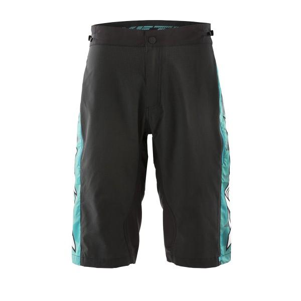 Yeti WC Replica Short shatter black / turquoise 2020