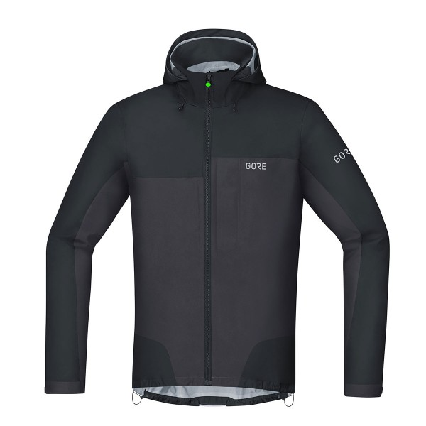 Gore Wear C5 Gore-Tex Active Trail Kapuzenjacke black/terra grey 2019