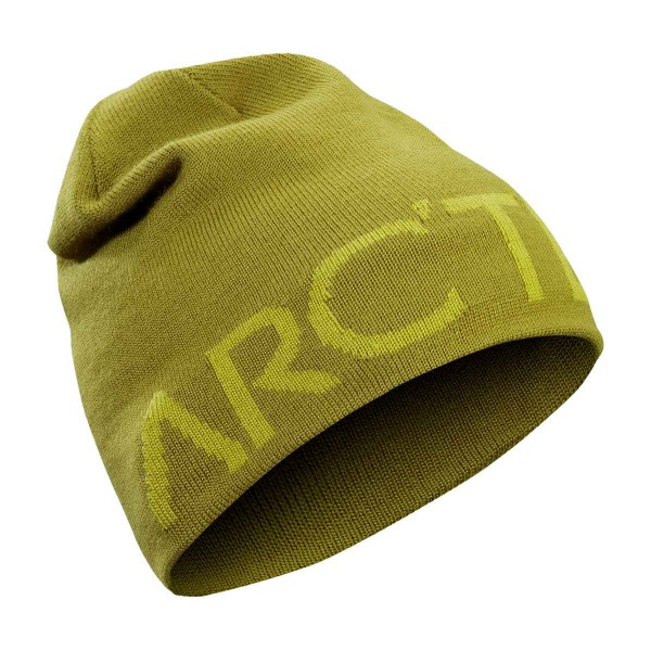 Arcteryx Word Head Long Toque olive amber/evergl 18/19