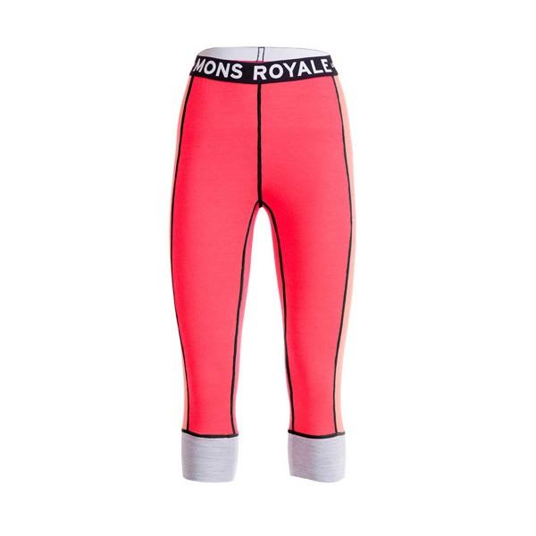 Mons Royale Alagna 3/4 Leggings wms pink 16/17