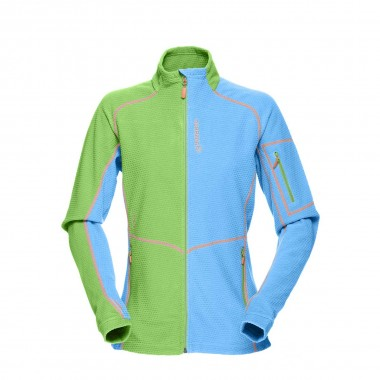 Norrona lofoten warm1 Jacket wms jungle fever / ice blue 15/16