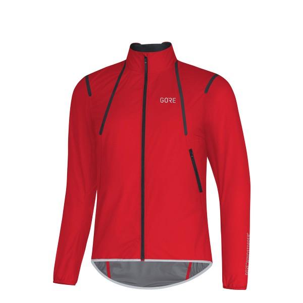 Gore Wear C7 Gore Windstopper Light Jacke red 2019