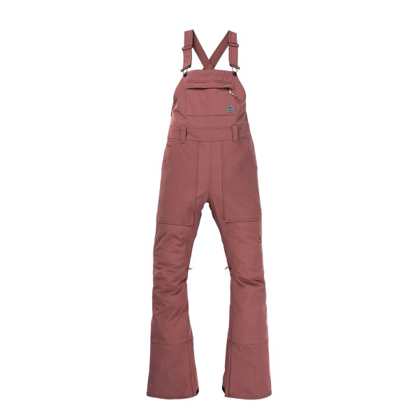 Burton Avalon Bib Pant wms rose brown 20/21