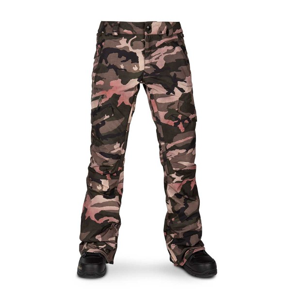 Volcom Aston Gore-Tex Pant wms faded army 19/20