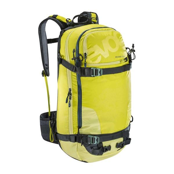 EVOC FR Guide Team 30L olive/sulphur 17/18