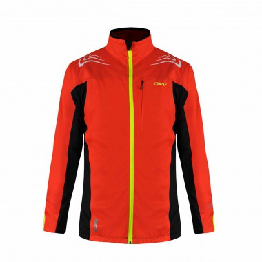 One Way Cata Pro Softshell Jacket fies red 14/15