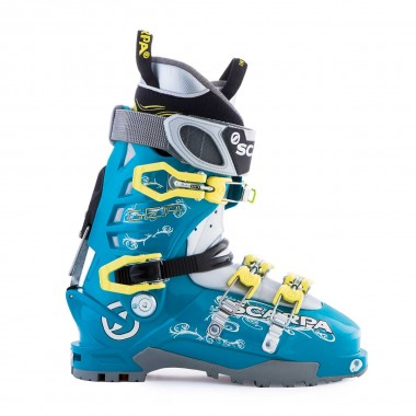 Scarpa Gea wms lake blue/limelight 16/17
