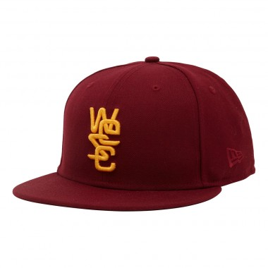 wesc 59Fifty Baseball Cap overwool biking red 2013