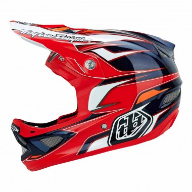 Troy Lee D3 evo red CP 2015