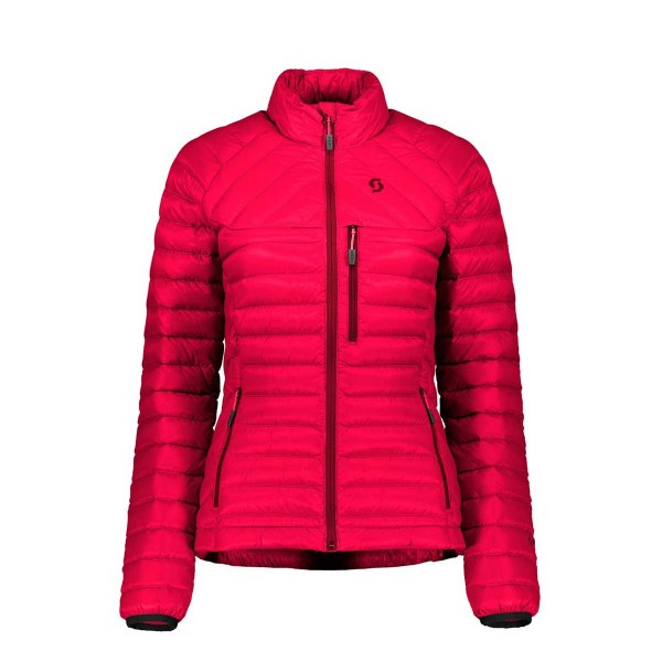 Scott Insuloft Light Down Jacket wms ruby red