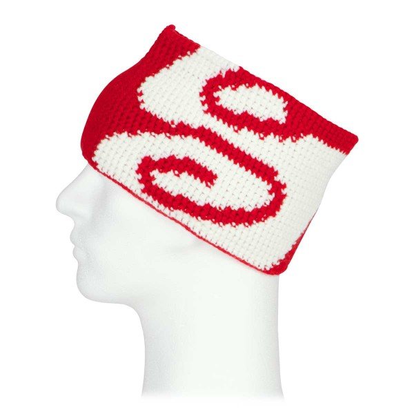 Sweet Protection Logo Hackle Headband scorch red 13/14