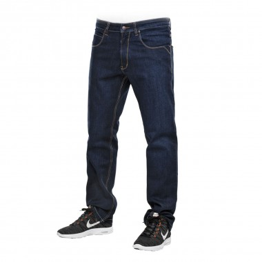 REELL Lowfly Jeans dark blue washed 2014