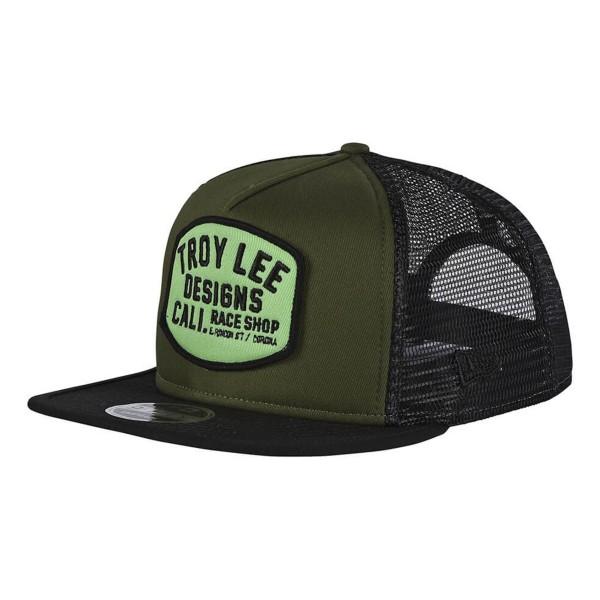Troy Lee Blockworks Hat army 2018