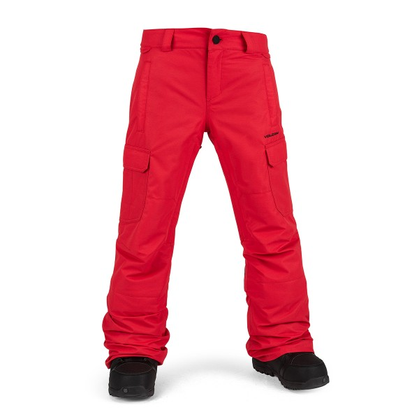 Volcom Cargo Insulated Pant kids red 20/21