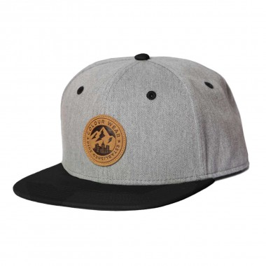 Colour Wear Badge Cap grey melange 16/17