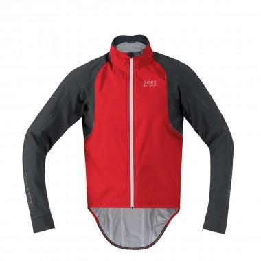 Gore Oxygen Gore Tex Active Jacke rot/schwarz 2014