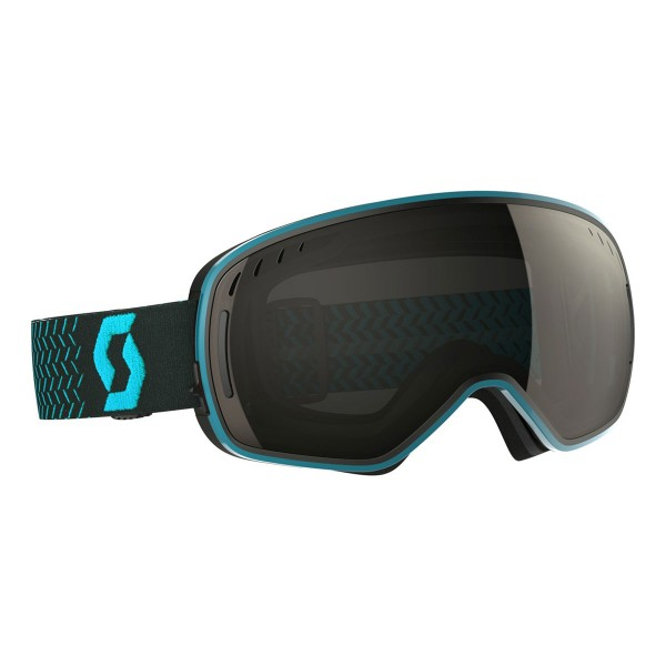 Scott LCG blue/black solar black chrome