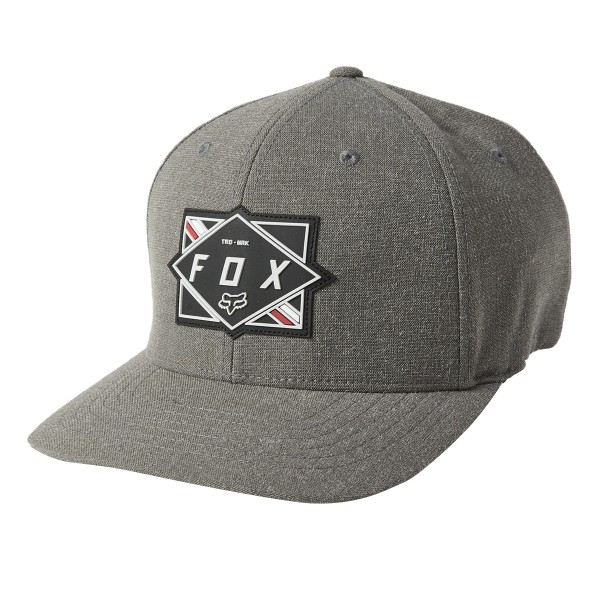 Fox Racing Burnt Flexfit Hat ptr grey 2021