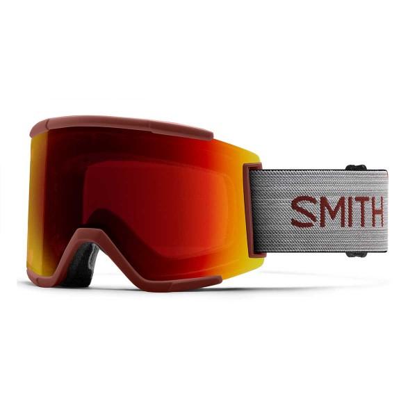 Smith Squad XL oxide / ChromaPop sun red mirror 19/20
