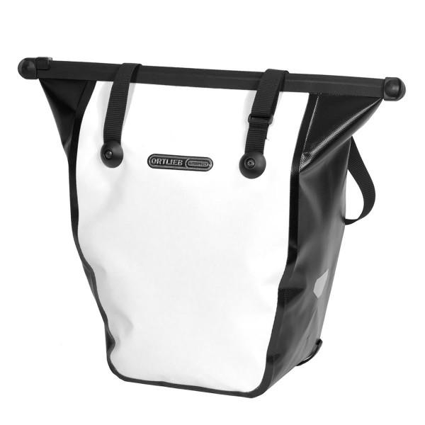 Ortlieb Bike Shopper white/black