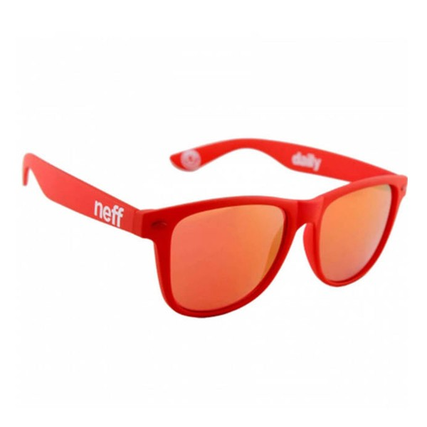 Neff Daily Shades red rubber 2016