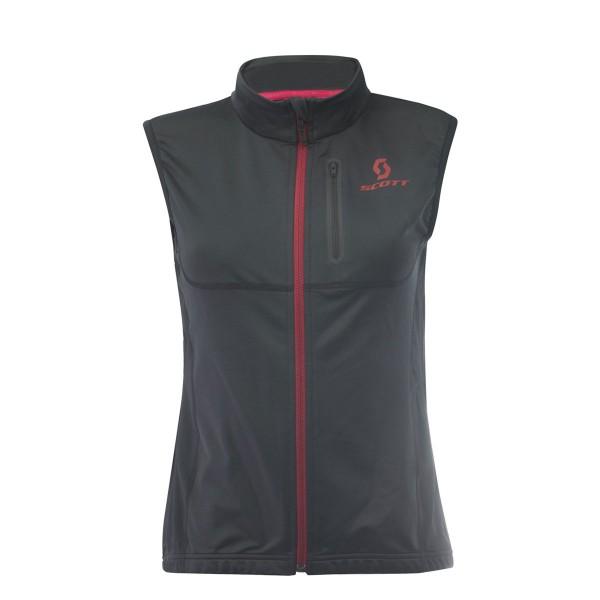 Scott Actifit Plus Thermal Vest wms black/ruby red 17/18