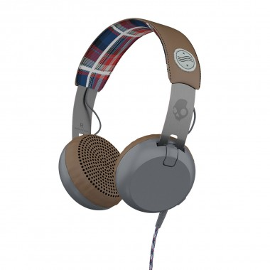 Skullcandy Grind Taptech americana plaid grey