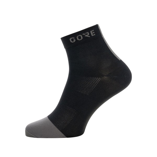 Gore Wear Mid Light Socke mittellang black/grey 2020