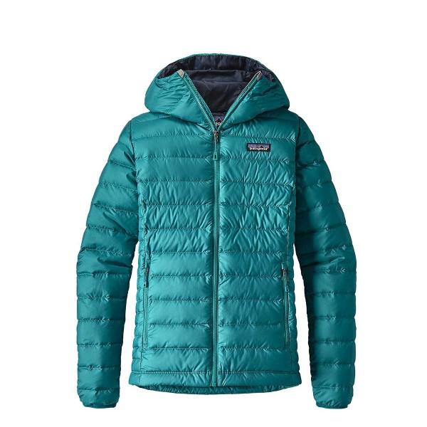 Patagonia Down Sweater Hoody wms elwha blue 17/18
