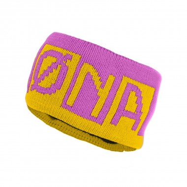 Norrona /29 heavy logo Headband yellow 16/17