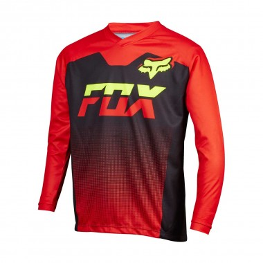 Fox Youth Ranger LS Jersey red/black 16/17