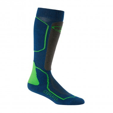 Icebreaker Ski+ Medium OTC Sock largo/monsoon/turf 15/16