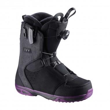 Salomon Ivy Boa SJ wms black/purple/black 15/16