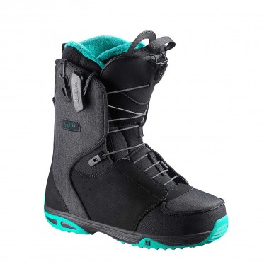 Salomon Ivy wms black / emerald / black 15/16