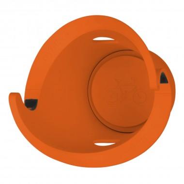 Cycloc Solo Fahrrad-Wandhalterung orange