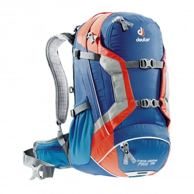 Deuter Trans Alpine Pro 28 steel-papaya 2016